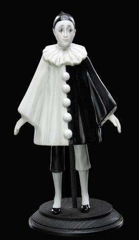 Pierrot (black&white)