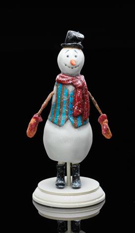 Snowman<br> in a strip