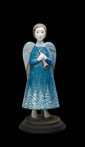Ангелы ангел зима синий