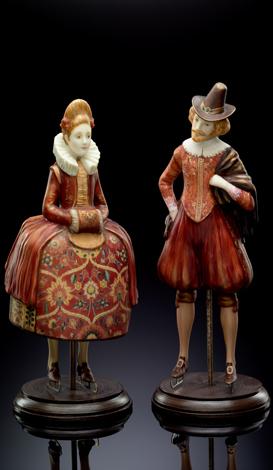Dutches pair (red)