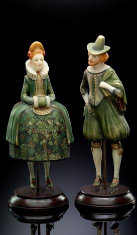 Dutches pair (green)