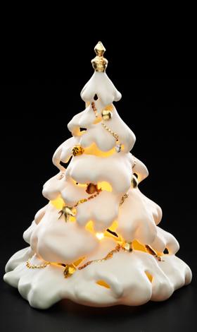 Fir-tree candlestick